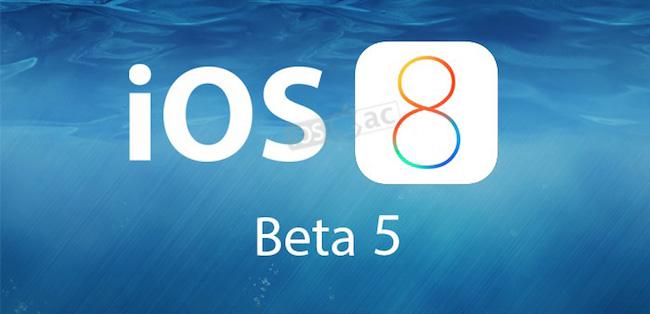 iOS 8 beta 5: ¿Qué mejoras incluye?  [Actualizado x15]