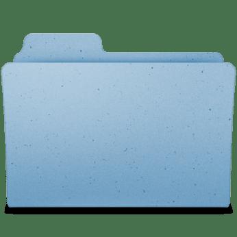 Nueva carpeta con los archivos seleccionados