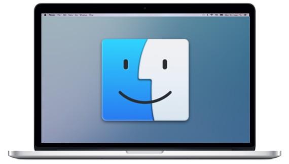 Icono del Finder, mitad Mac,, mitad usuario
