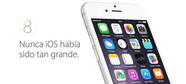 iOS 8 todas las novedades del sistema operativo - iosmac
