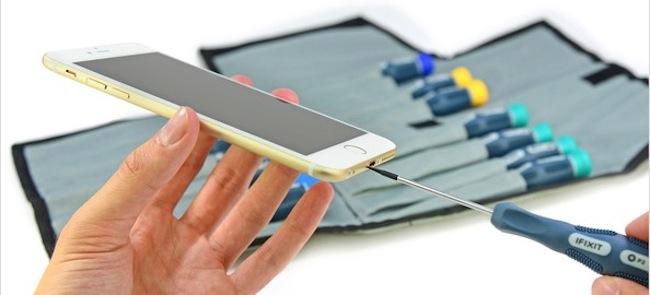 interior del iPhone 6 - ifixit - iosmac