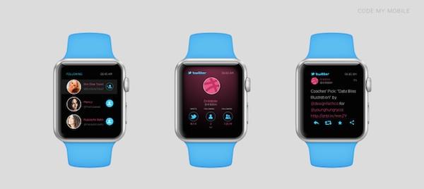 Apple Watch Twitter