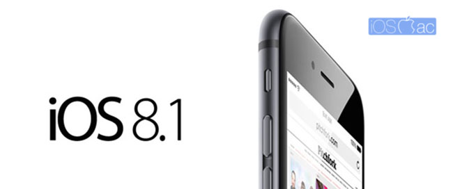 Que nos incluirá iOS 8.1 Descubrelo antes del lanzamiento
