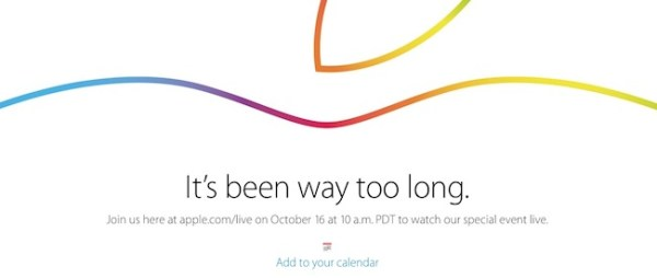 Sigue en iOSMac la Keynote de Apple del 16 de octubre