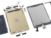 iPad Air 2 desmontado. Confirmado A8X y 2 GB de RAM