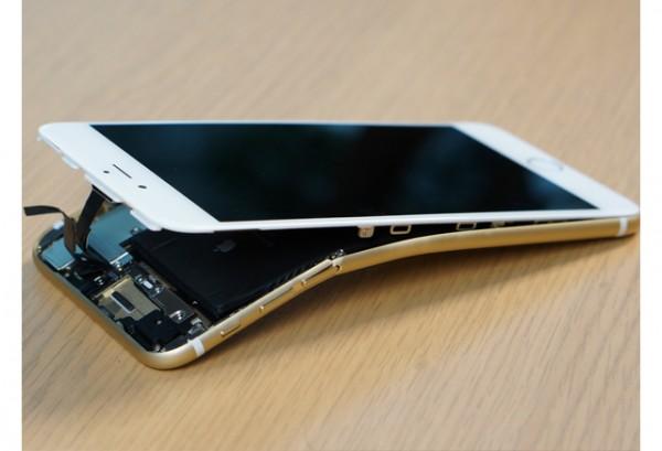 Samsung Galaxy S6 Edge se dobla tanto o mas que el iPhone 6 Plus