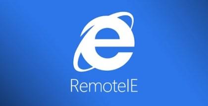 Internet Explorer - RemoteIE - iosmac