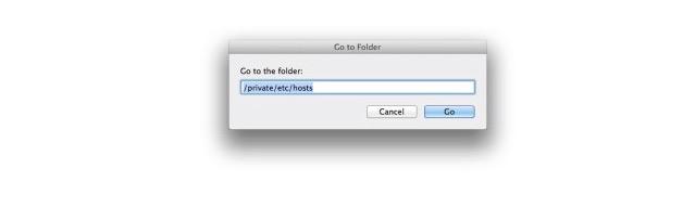 Cómo modificar el archivo Hosts en un Mac
