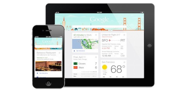 Google Now - iphone - ipad - iosmac