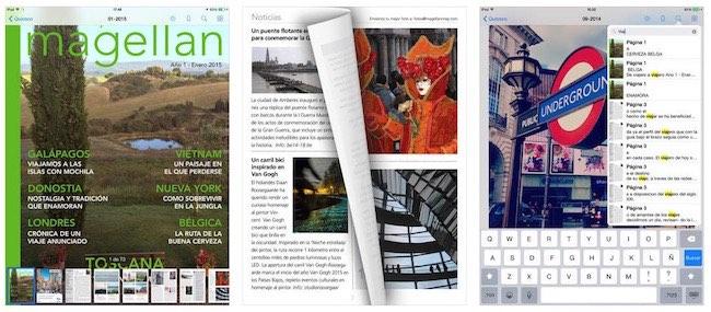 Magellan revista de Viajes gratuita para iPad - iosmac