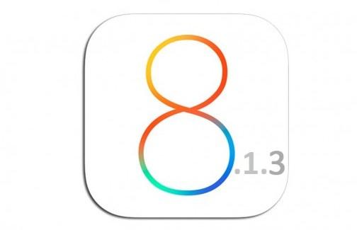 La actualización a iOS 8.1.3 podría estar al llegar