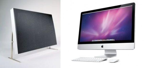 Braun Speaker y Apple iMac