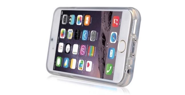 Funda iPhone 6 Plus con carga inalámbrica mobilefun