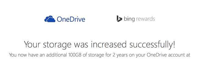 OneDrive y sus 100GB gratis de almacenamiento