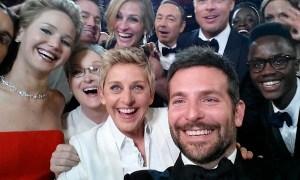Oscar's selfie