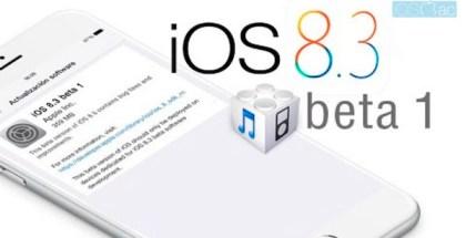 iOS 8.3 beta 1- iosmac