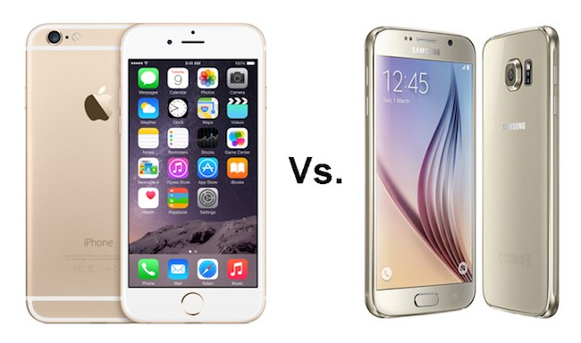Apple supera a Samsung La nueva copia del iPhone 6 es el Galaxy s6