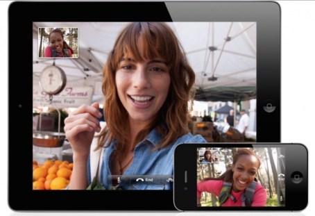 face time ipad iphone
