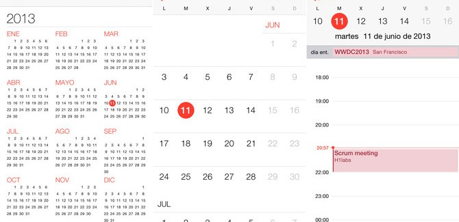 Como ver eventos rechazados en Calendario del iPhone