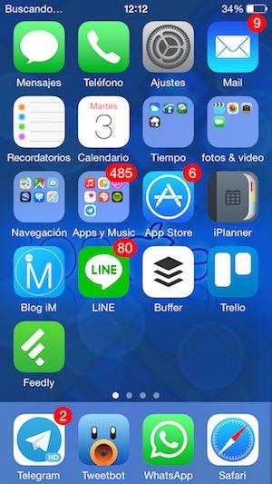iphone 5 - buscando