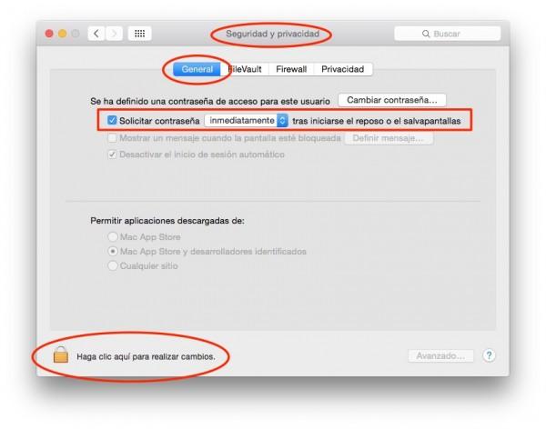 Como bloquear y proteger la pantalla de tu Mac