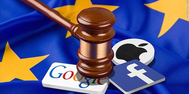 UE vs Apple, Facebook, Google y Amazon (América)