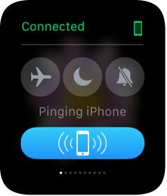 ping apple watch