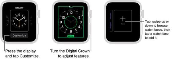 esferas apple watch