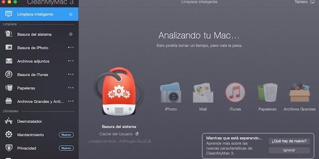 CleanMyMac 3 mantenimiento y limpieza de nuestro mac