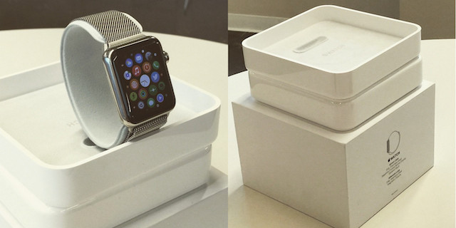 Aparece ya algún unboxing del Apple Watch