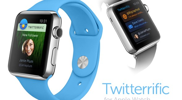 Así será Twitterrific en el Apple Watch