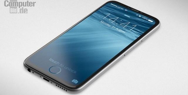 ¿Un iPhone 7 con el botón Home integrado en la pantalla?