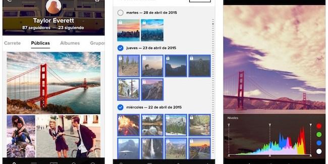 Flickr para iOS se actualiza a la versión 4.0 con nuevo diseño y más
