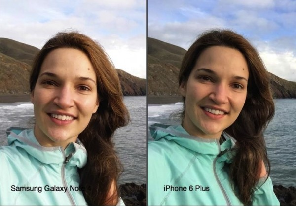camara iPhone 6 Plus vs Galaxy Note 4