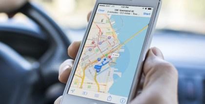 Apple Maps-coche