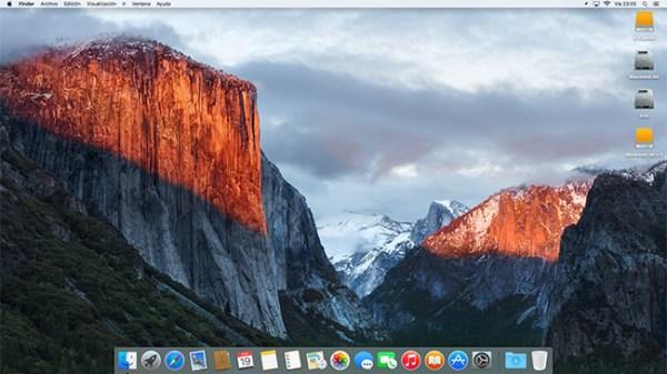 OS X El Capitan · ¿Está El Capitán en perfectas condiciones?
