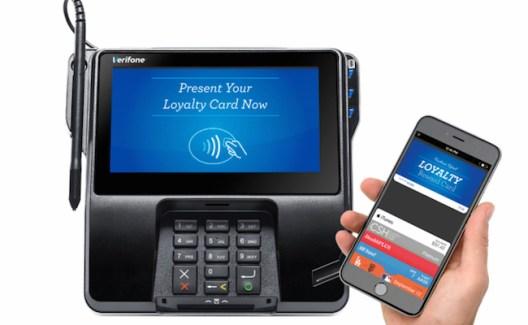 Verifone ya acepta tarjetas Loyalty mediante Apple Pay