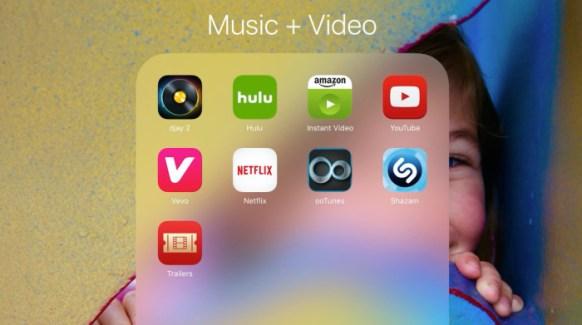 iOS 9 permite almacenar hasta 240 apps por carpeta en iPad