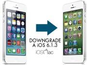 downgrade a iOS 6.1.3