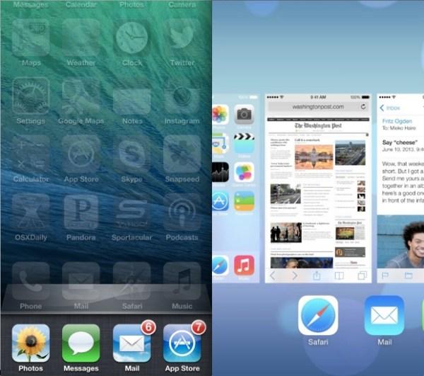 Evolución de la multitarea de iOS