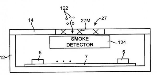 Nueva patente de Apple: el detector de humo para iPhone