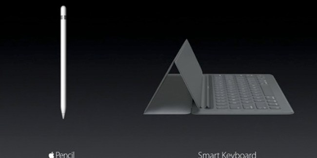 Smart Keyboard y Apple Pencil: los nuevos accesorios del iPad Pro