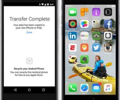Move to iOS ya disponible en la Play Store