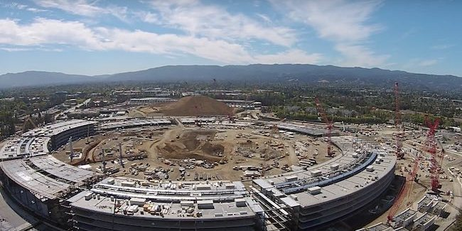 Apple Campus 2 - SpaceShip