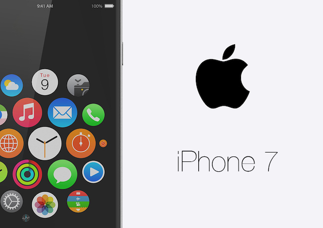 iPhone 7 Concepto Octubre