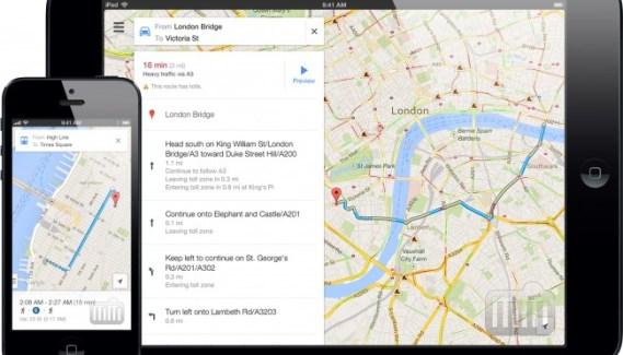 Google Maps: Alertas de tráfico habladas
