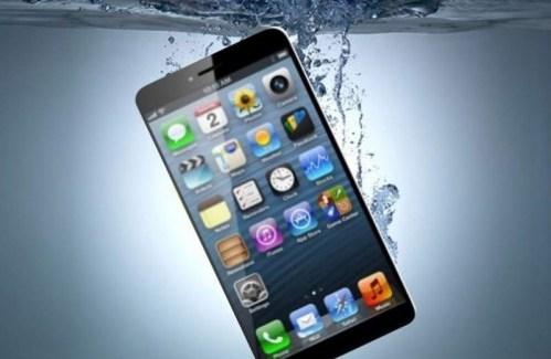 ¿iPhone 7 resistente al agua?