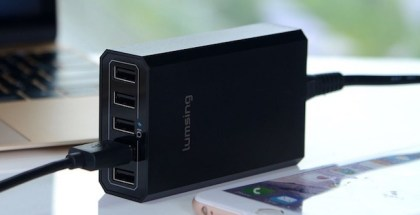 Cargador USB de mesa lumsing