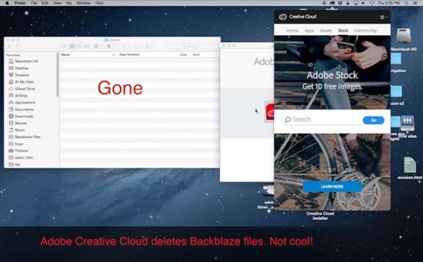Adobe Creative Cloud error