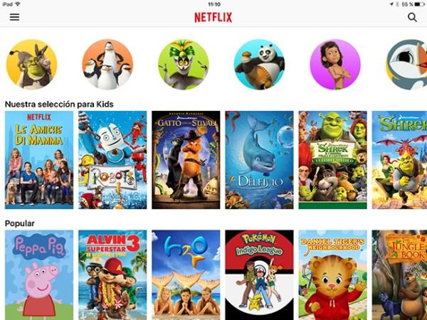 Netflix - iPad - Kids